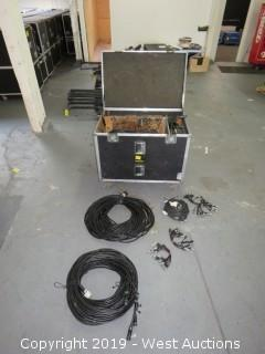 Bulk Lot; Ethercon, 5 Pin Breakout,5 Pin To 3 Pin, And Breakout Cables With Road Case