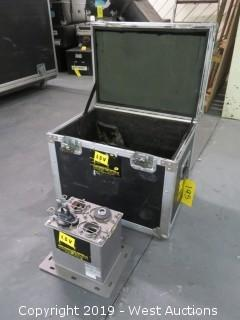 Barco BME Fiberl RX M-Mode Transmitter With Cables And Road Case