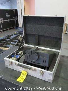 Boxlight MP-83i Projector With Road Case And Accessories