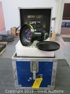 Sanyo 0.8:1 Short Throw Projector Lense With Road Case