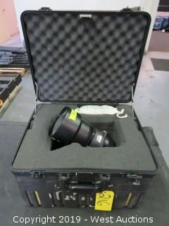 3.3-4.5 Projector Zoom Lense With Road Case