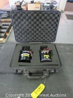 (2)2.0-2.6 Projector Lenses With Road Case