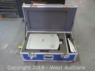 Sharp XG-E3500U Projector With Road Case