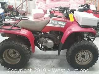 Honda Fourtrax 4x4 Four Wheeler