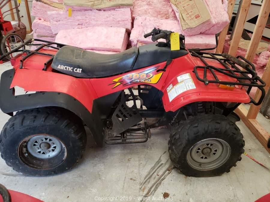 Online Auction of ATVs, Boats, Farm Equipment, Tools, and More