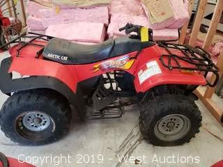 1998 Arctic Cat 300 4x4 Four Wheeler