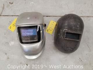 (2) Welding Helmets
