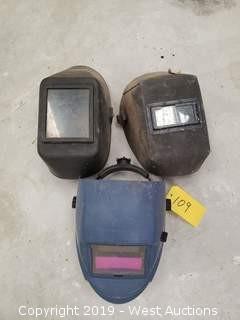 (3) Welding Helmets