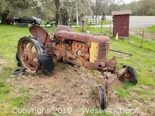 Antique Case Tractor