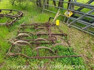 (2) Antique Farm Equipment