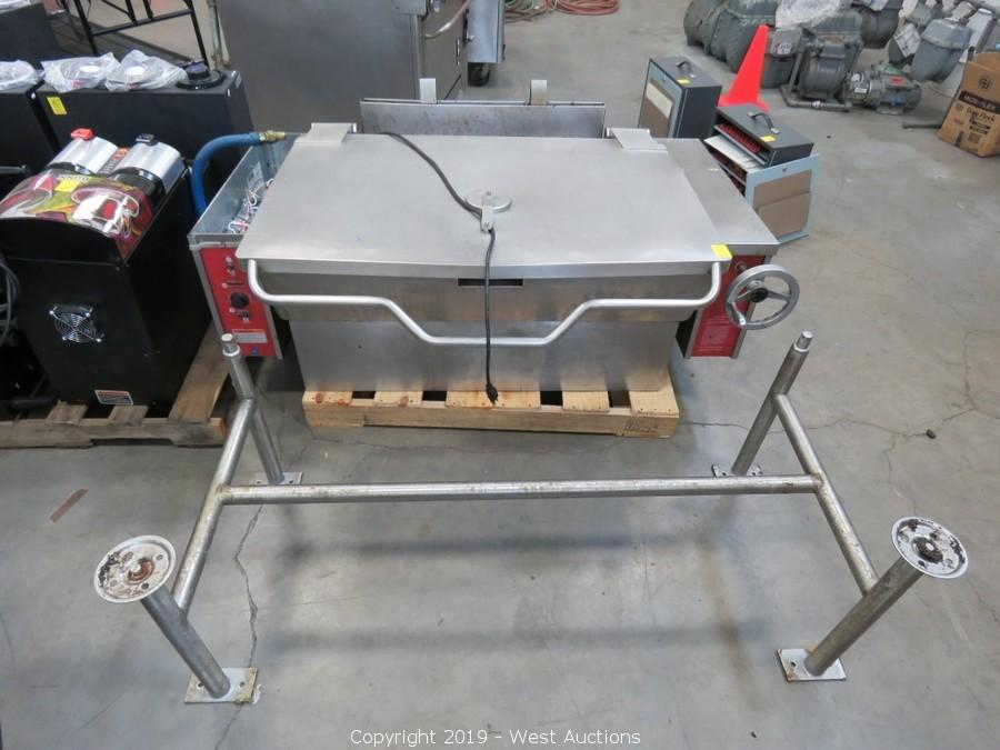 Online Auction of Welding Booths, Genie Lift, Restaurant Equipment, Dining Furniture, and More