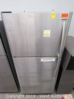 Kenmore Stainless Steel  Top/Bottom Refrigerator with Freezer