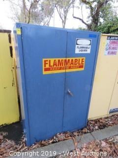 "Fire Cabinet 43"" x 18"" x 65""H"