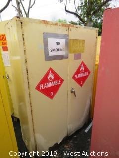 "Fire Cabinet 30"" x 30"" x 65""H"