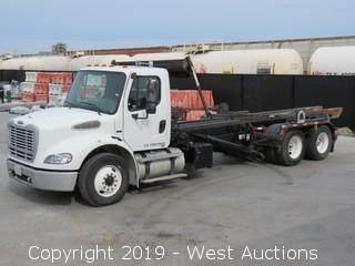 2005 Freightliner 52,000 LB GVWR Roll-Off Truck with Pioneer Coverall Tarping System