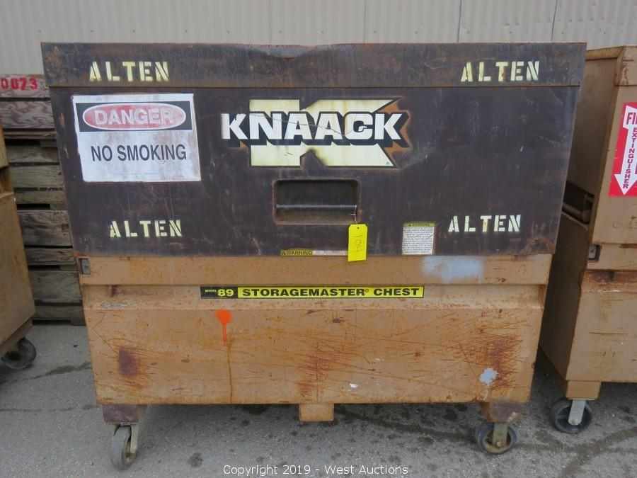 Online Auction of Telehandler, Freightliner, Knaack Storagemaster, and More