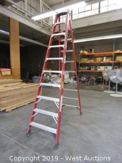Werner 10' Finerglass Folding Ladder