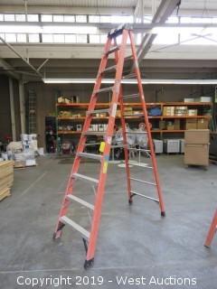 Werner 10' Foberglass Folding Ladder