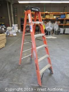 Werner 6' Fiberglass Folding Ladder