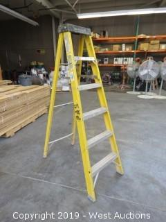 Werner 6256 6' Fiberglass Folding Ladder