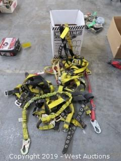 (4) Body Harness And Fall Limiters