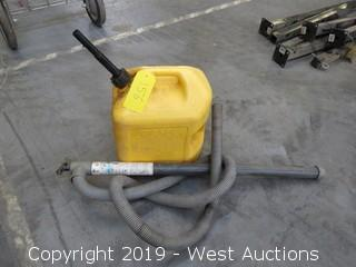 Hand Barrel Pump And Diesel Tank