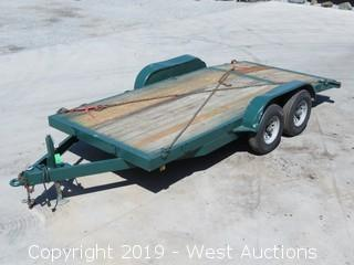 16' Tandem Axle Equipment Trailer
