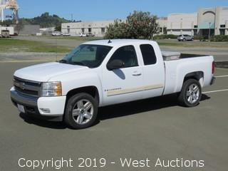 2008 Chevy Silverado LT Extended Cab Pickup Truck