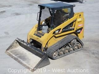 CAT 247B Series 2 Track Skid Steer With Bucket