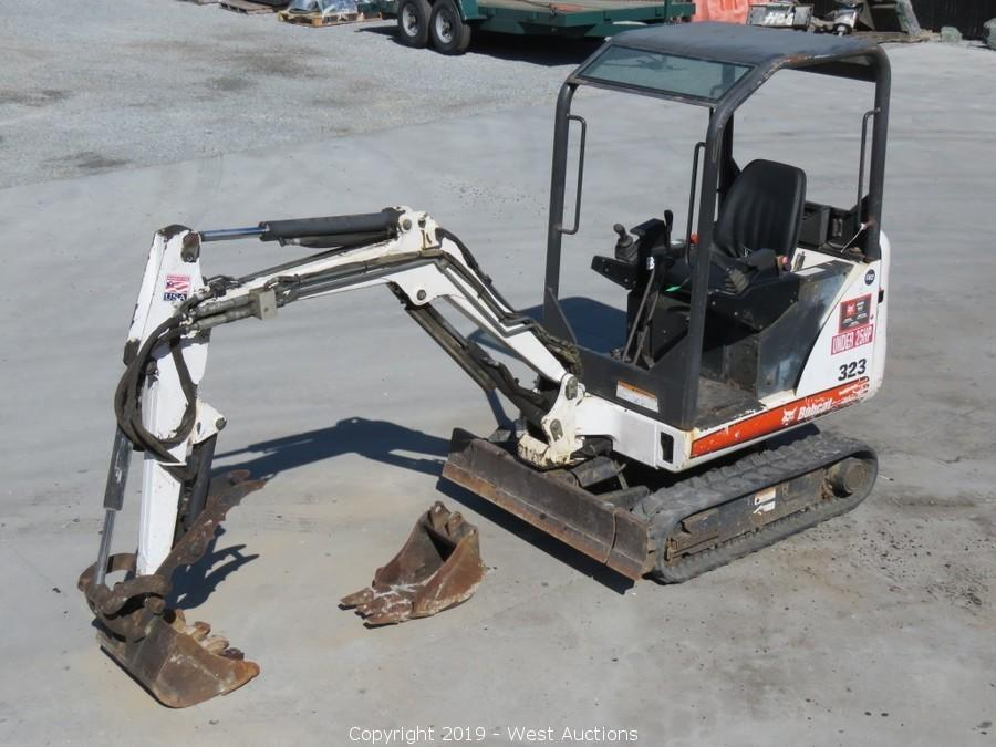 Online Auction of Bobcat Excavator, CAT Skid Steer, and Construction Equipment for Sale in Richmond, CA