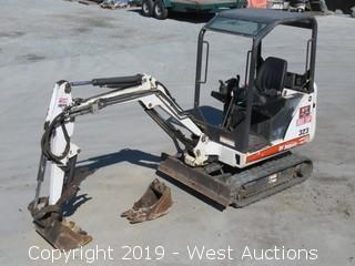 2009 Bobcat 323J Mini Excavator With Hydraulic Thumb And (2) Buckets