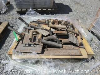 Pallet: Masonry Hand Tools