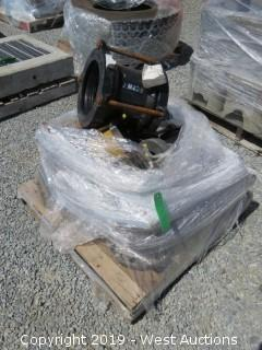 "Pallet: (10+) 5""-8"" Commercial Pipe Couplings"