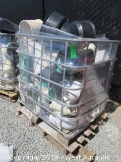 Pallet: Bulk PVC Commercial Pipe Fittings With Cage