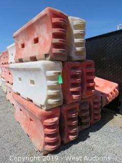 (10) TrafFix Water-Wall 6' Safety Barrier