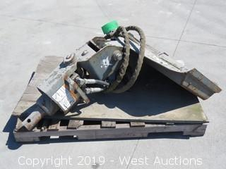 2007 Bobcat 10 Auger Attachment