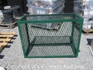 """Steel Crate 42""""x18""""x31""""Tall"""
