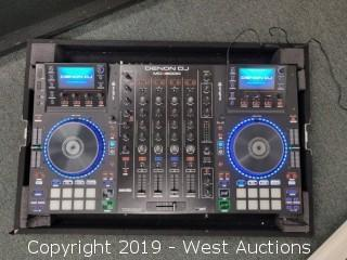 Denon MC8000 DJ Controller in Road Case