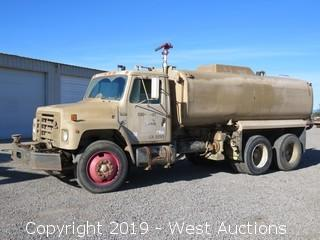 1987 International S1900 4,000 Gallon Water Truck