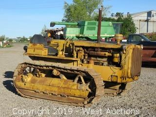 1936 Caterpillar RD-4 Crawler Tractor