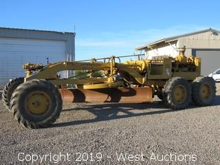 Caterpillar No. 12 Motor Grader