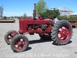 Farmall Vintage Gas Tractor
