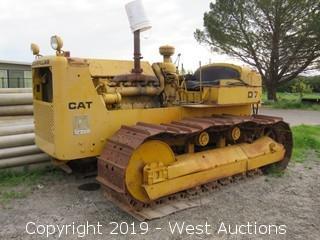 CAT D7 Crawler Tractor