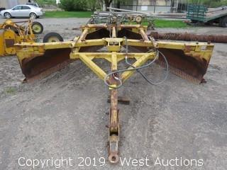Frank's Welding Works Hydraulic Ditch Closer