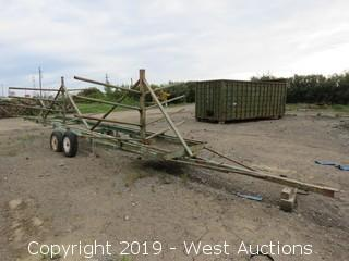 28' Irrigation Pipe Trailer