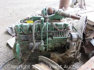 John Deere Inline 6 Diesel Engine