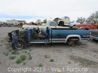 Truck Chassis (for parts or scrap)