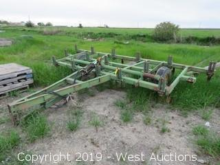 16' Hydraulic 3 Row Spring Tooth Harrow