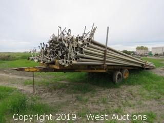 "(175+) 3"" 30' Irrigation Pipe With Pipe Trailer"