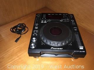 Pioneer CDJ-850-K Multi Player Turntable